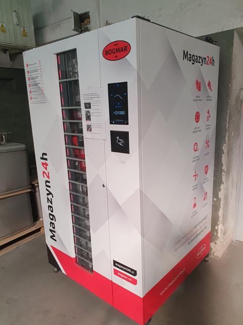 Instalacja automatu
